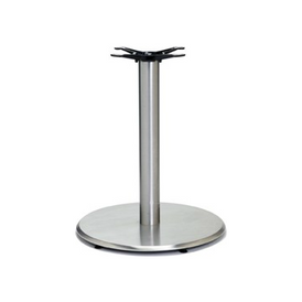 Beveled Edge Round Table Base