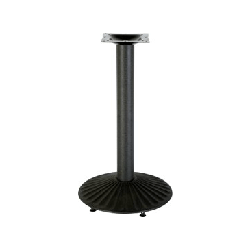 Black Spoon Round Table Base 22