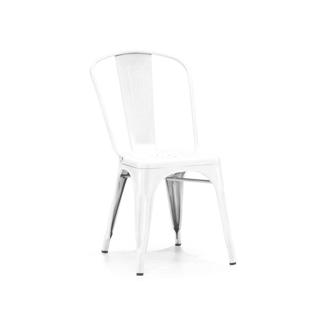 Classic Solid White Tolix Chair
