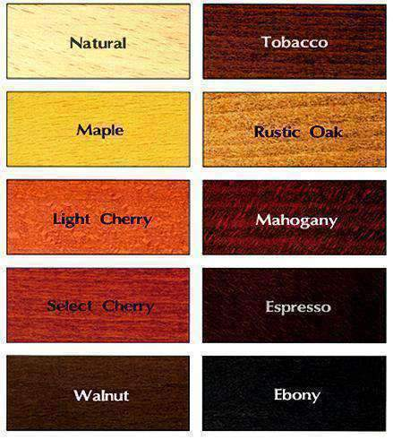 Any Size Beech Wood Butcher Block Table Tops 10 Colors