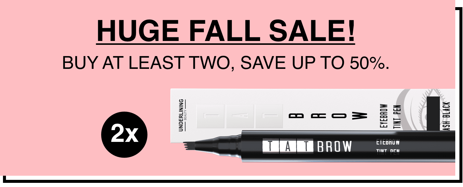 huge fall sale banner