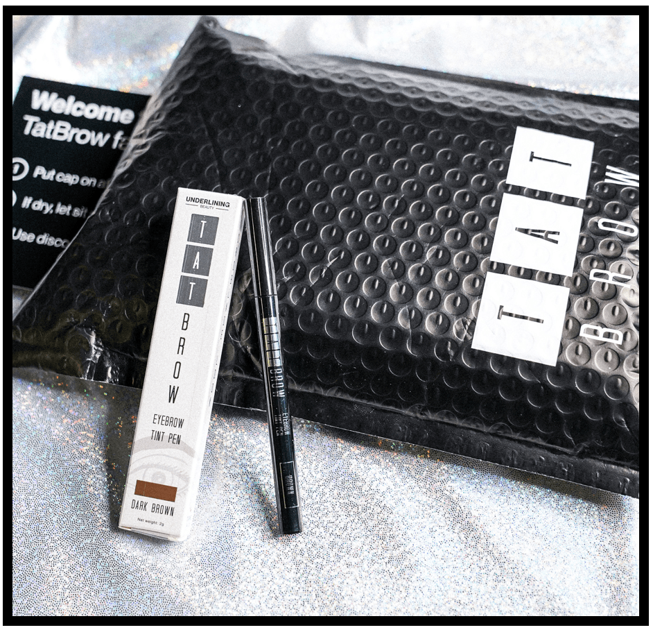 TatBrow Packaging Mobile view