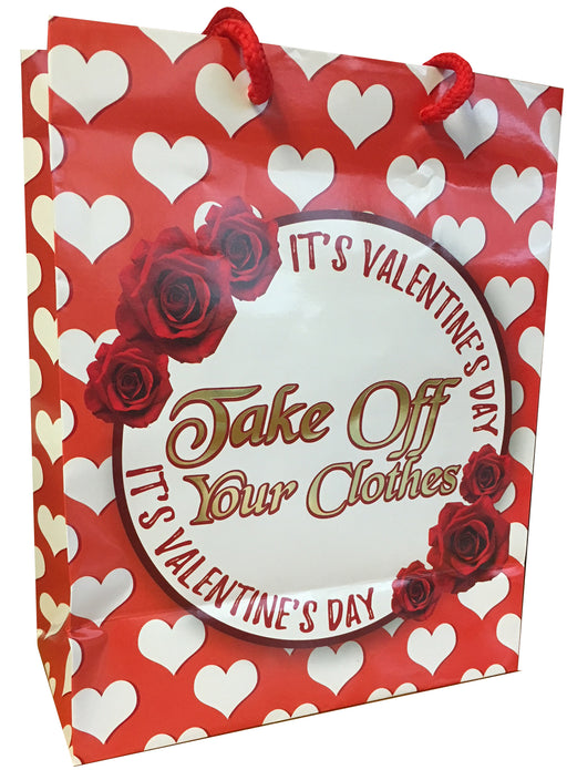 iT's Valentine's Day... - Foil Gift Bag K-GBF525