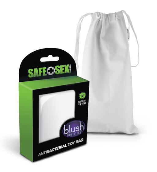 Safe Sex - Antibacterial Toy Bag - Medium - Each BL-99925E