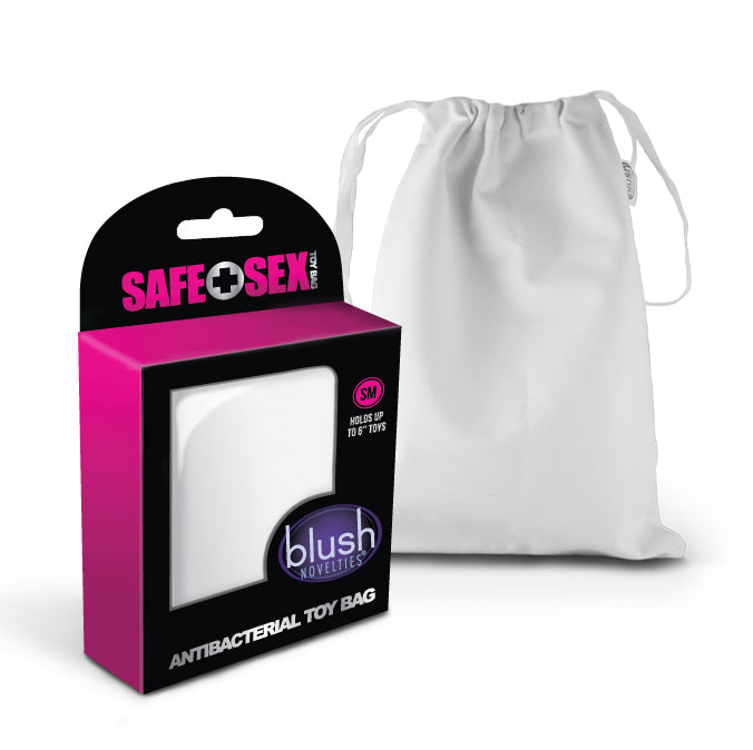Safe Sex - Antibacterial Toy Bag - Small - Each BL-99935E
