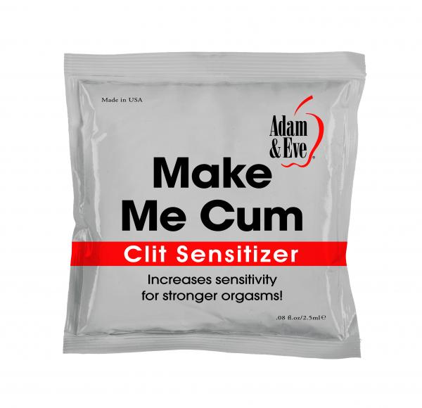 Adam and Eve clit sensitizer for easy climax