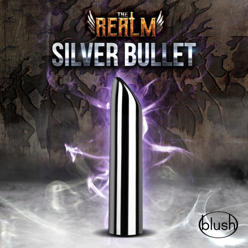 The Realm - Sliver Rechargeable Bullet - Silver