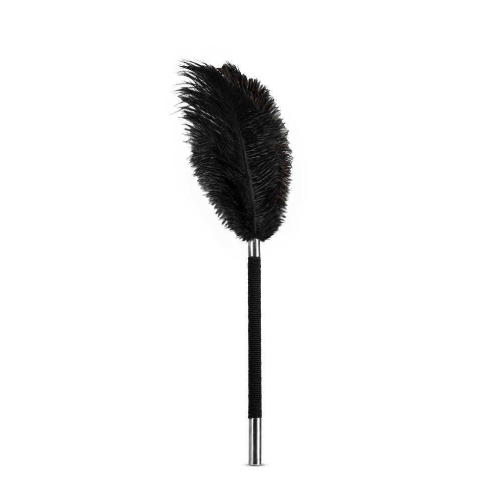 Noir - Soft Feather Tickler - Black