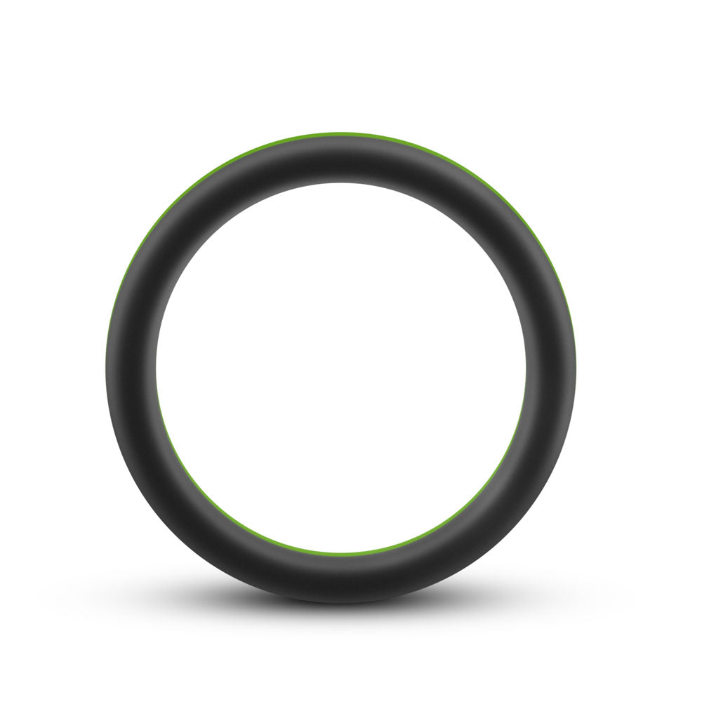 Performance - Silicone Go Pro Cock Ring -  Black/gold/black