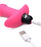 Bang - Vibrating Silicone Anal Beads and Remote Control - Pink