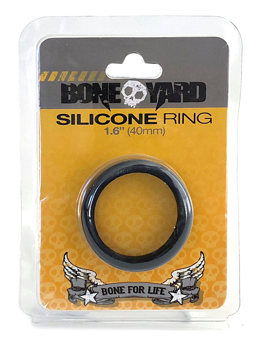Boneyard Silicone Ring 40mm - Black