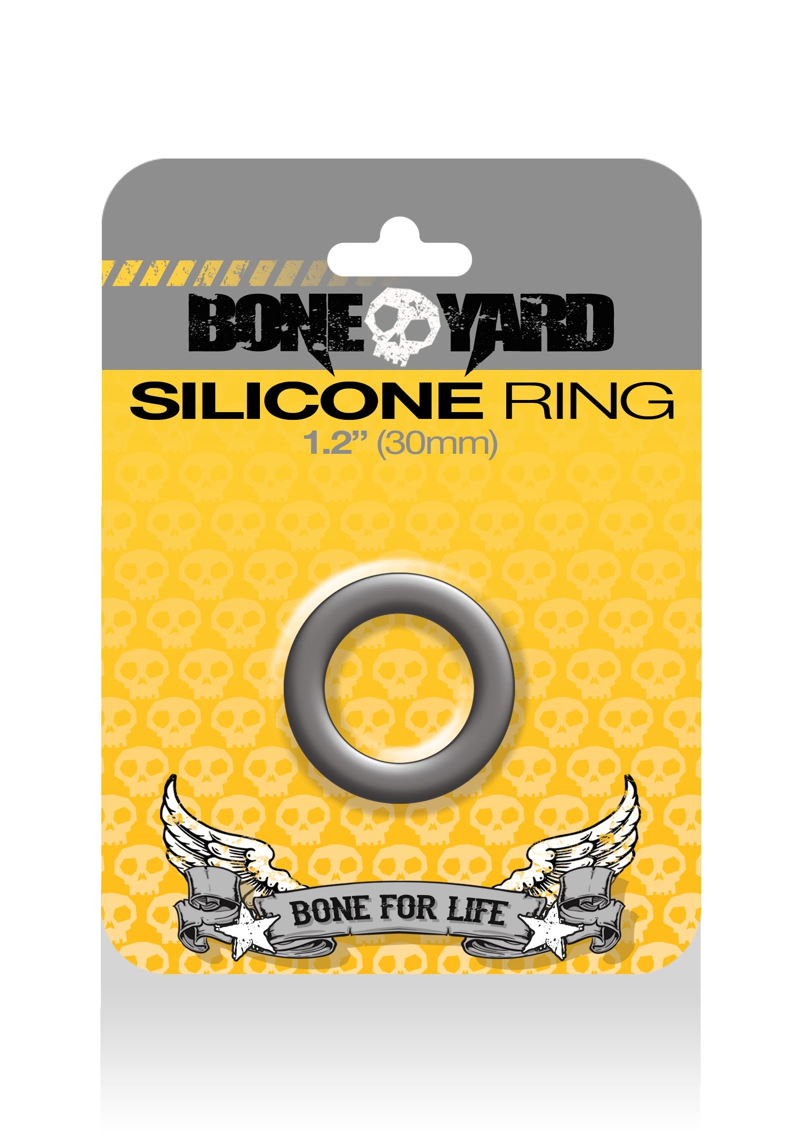 Boneyard Silicone Ring 30mm - Gray