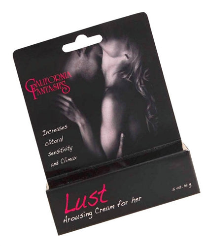 Lust - Arousing Cream for Her - 0.5 Oz. Tube - Boxed