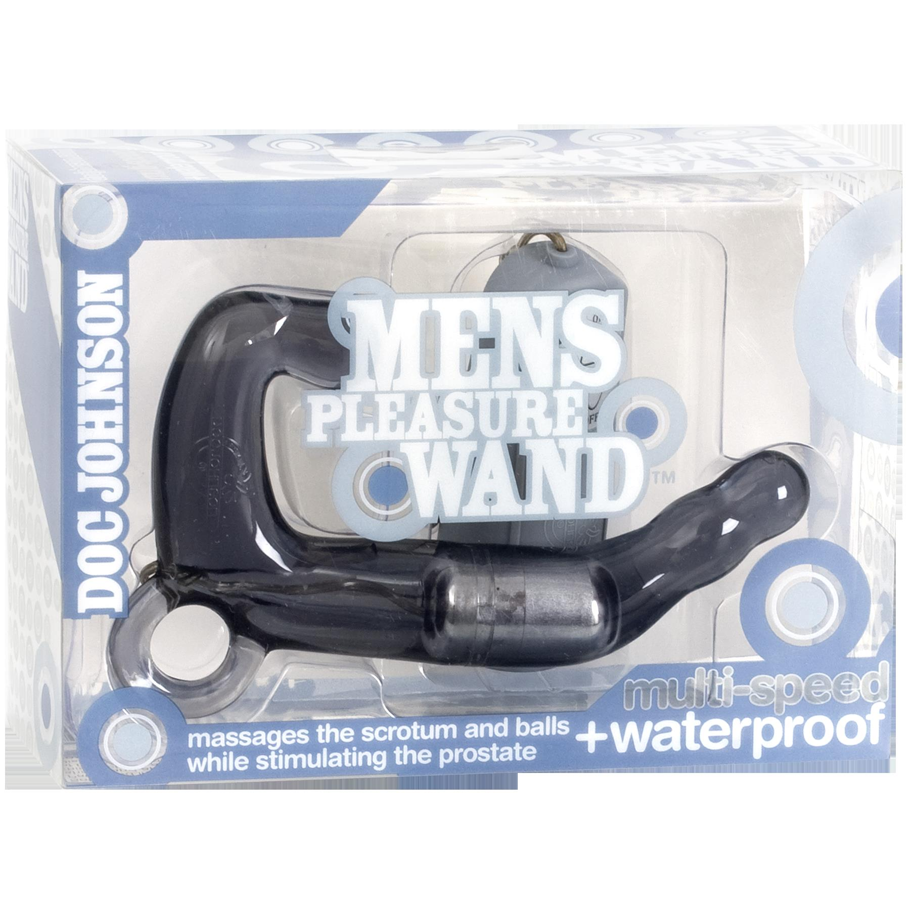 Men's Pleasure Wand - Charcoal