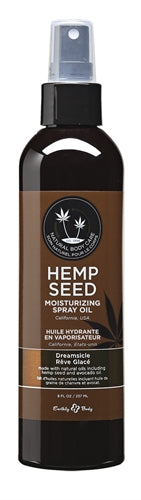 Hemp Seed Moisturizing Spray Oil - 8 Fl. Oz. - Dreamsicle