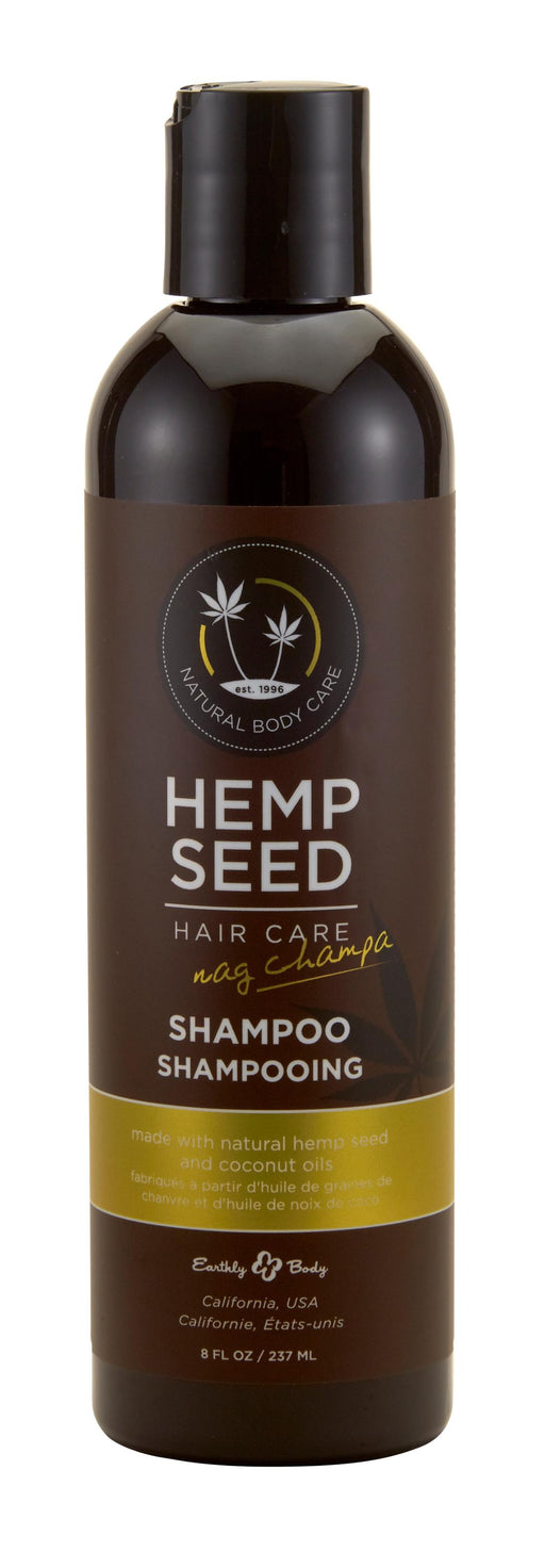 Hemp Seed Hair Care Shampoo - Nag Champa 8 Oz