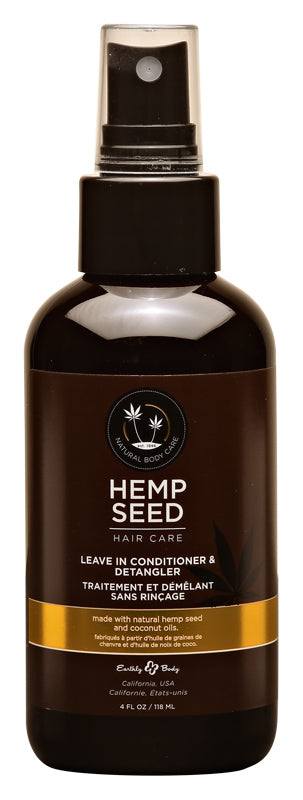 Hemp Seed Hair Care Leave in Conditioner 4 Oz
