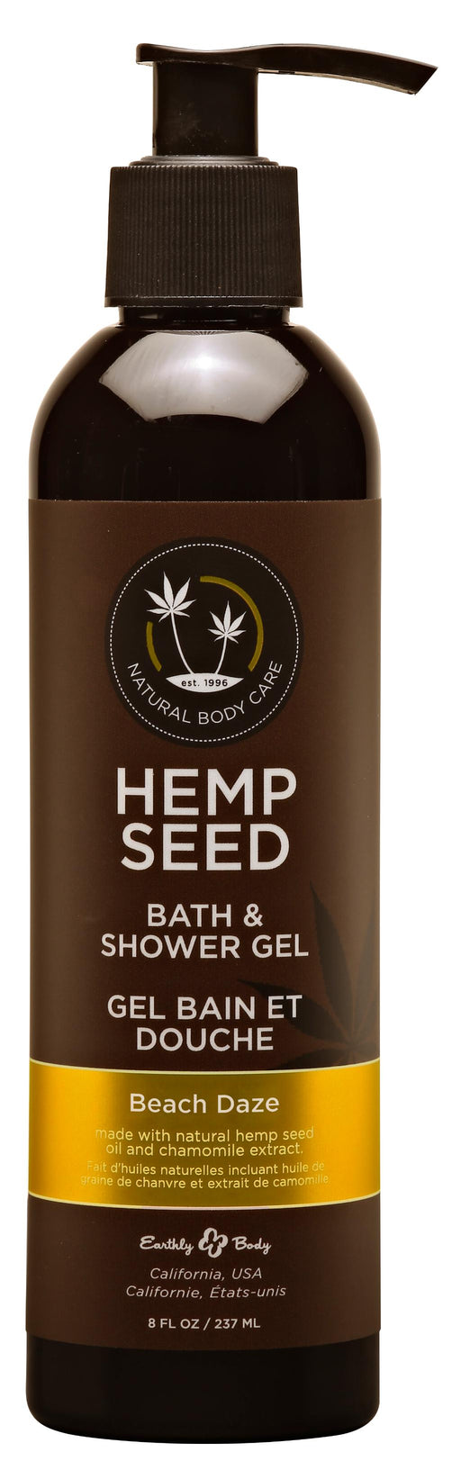 Hemp Seed Bath and Shower Gel Beach Daze