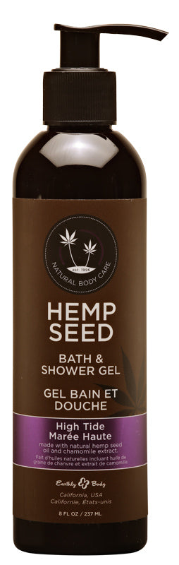Hemp Seed Bath and Shower Gel - High Tide - 8 Oz.- 237ml