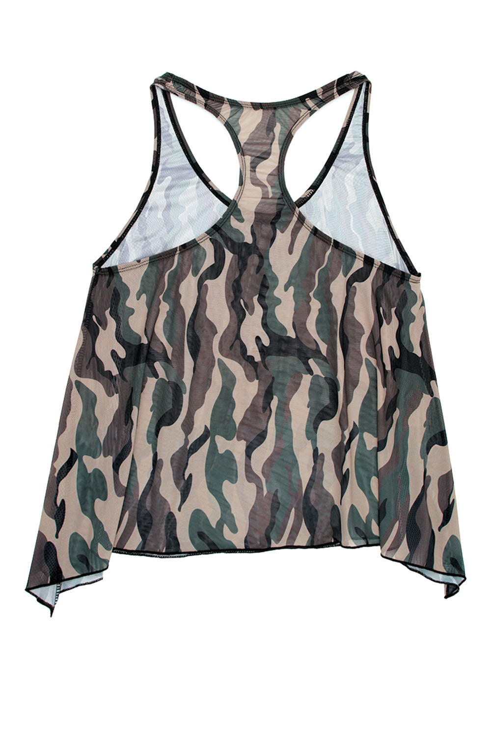 Savage Af Swing Top - Forest Camo - M-l