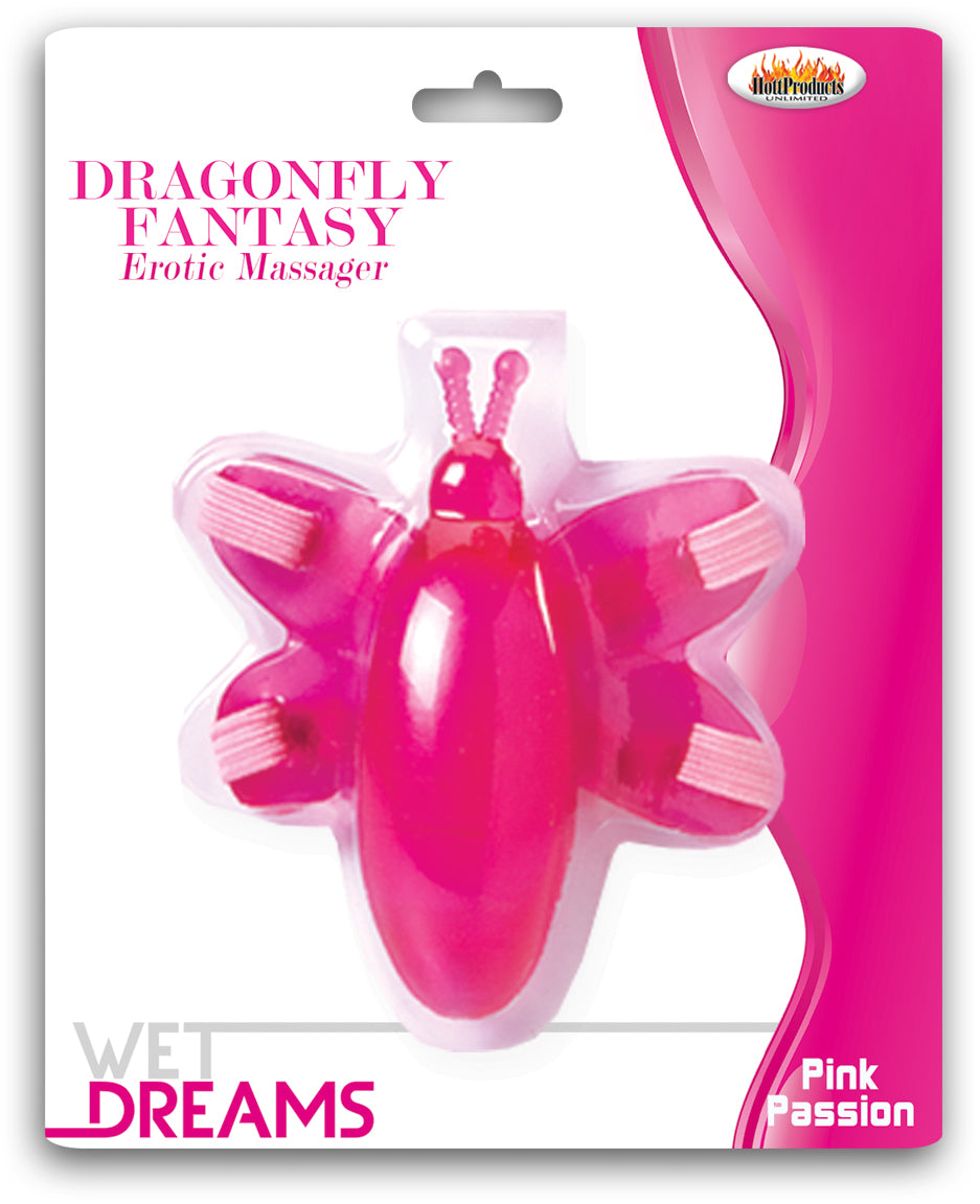Wet Dreams Dragonfly Fantasy Erotic Massager