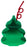 Christmas Tree Cup 24 Oz