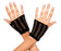 Oval Net Gloves - Black