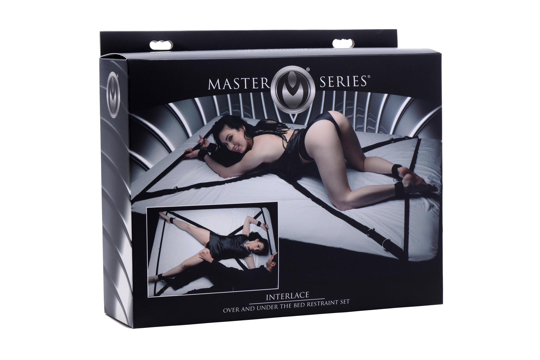 Interlace Over and Under the Bed Restraint Set