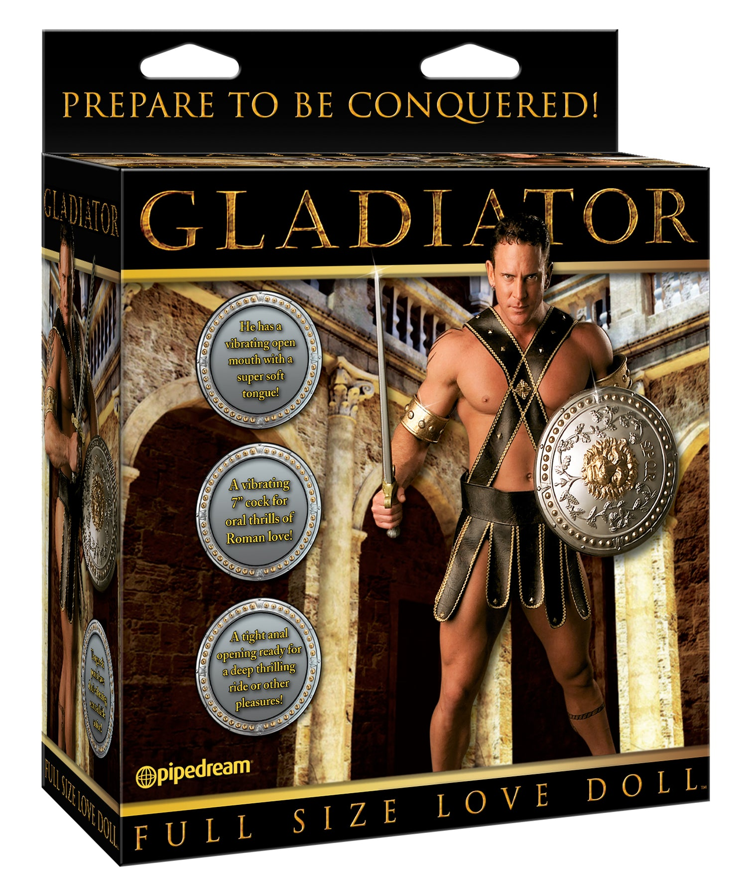 Gladiator Love Doll