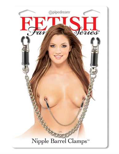 Fetish Fantasy Series Nipple Barrel Clamps