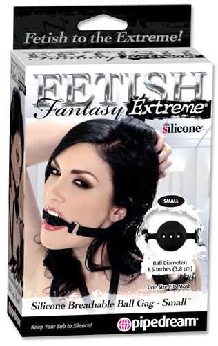 Fetish Fantasy Extreme Silicone Breathable Ball Gag - Small