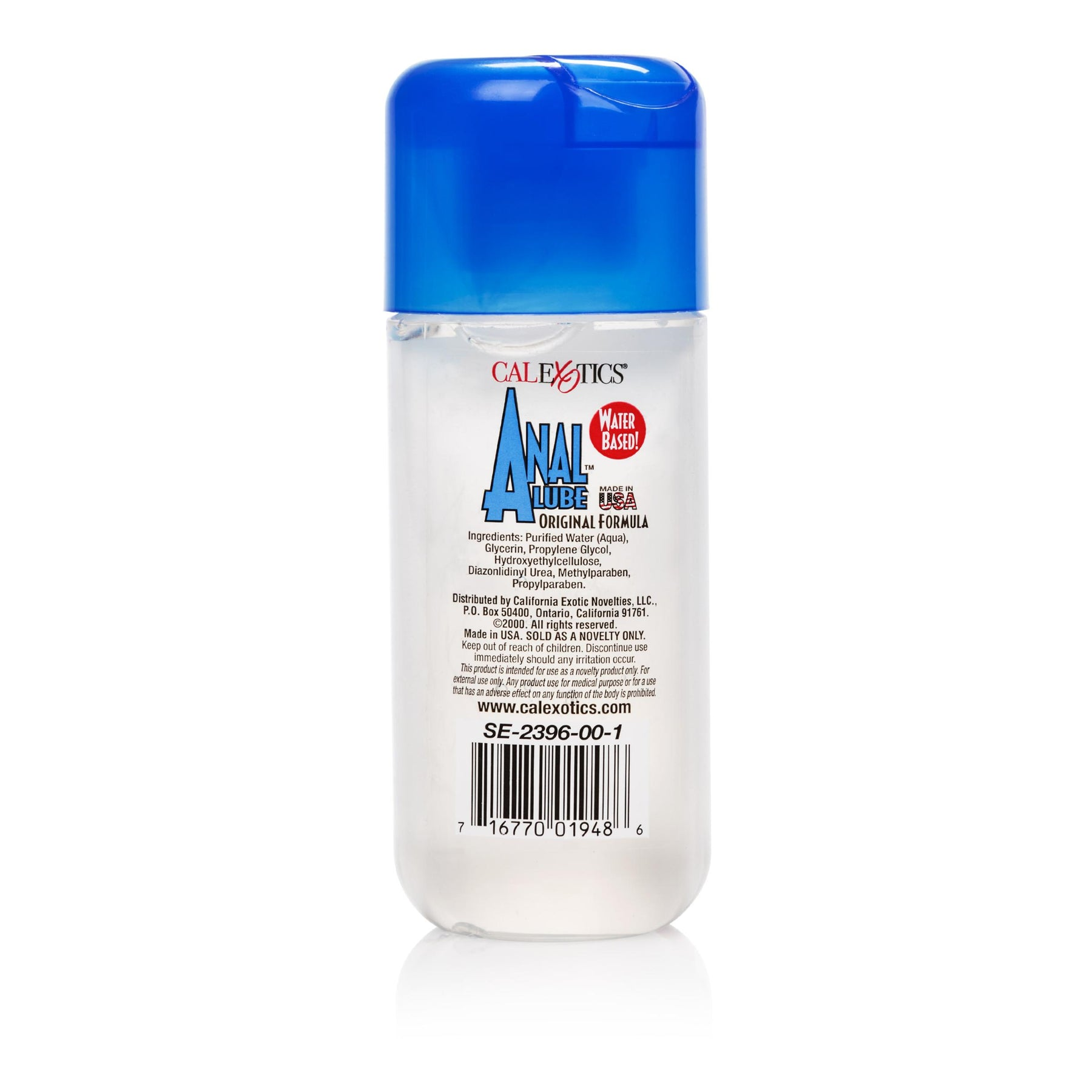 Water based anal lube