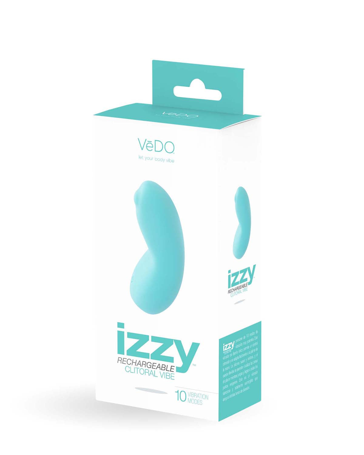 Izzy Rechargeable Vibe -Turquoise