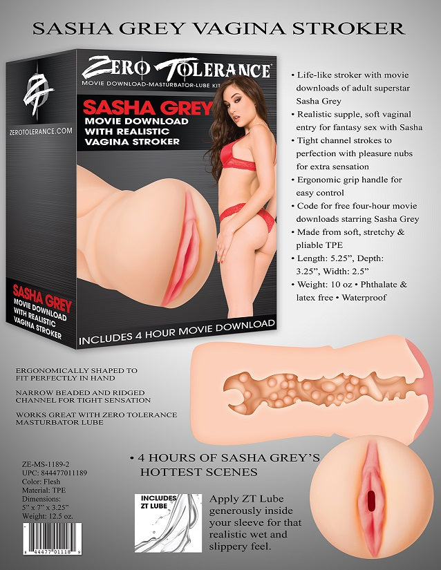 Sasha Grey Movie Download With Realistic Vagina  Stroker