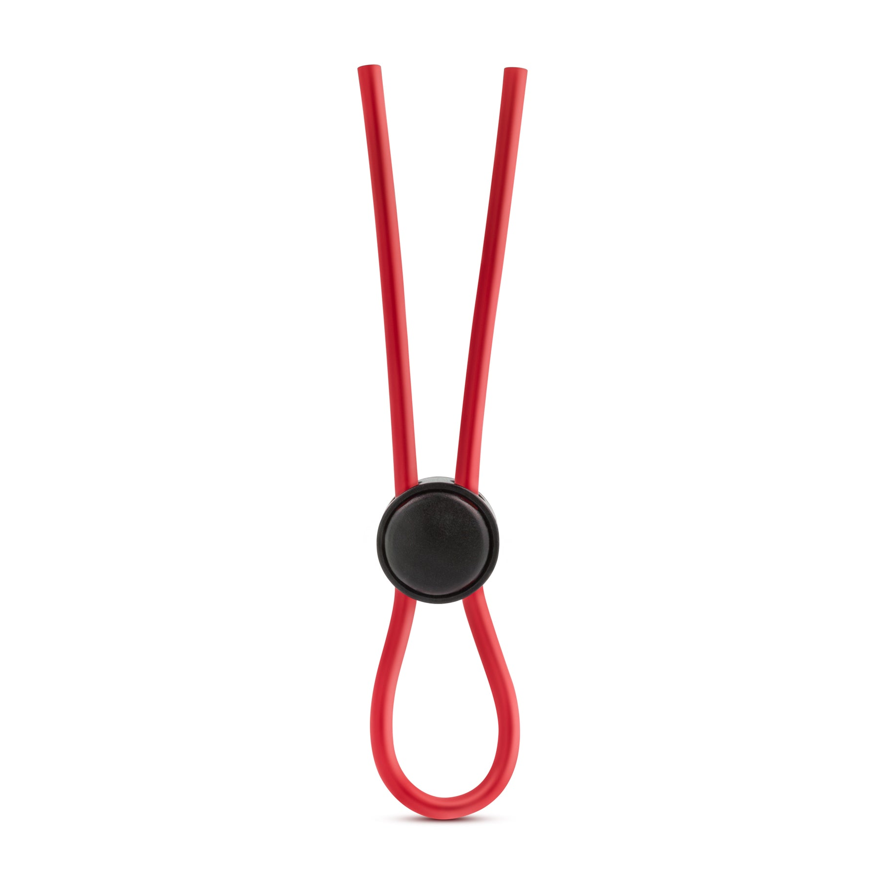 Stay Hard - Silicone Loop Cock Ring - Red BL-31098