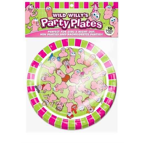 Wild Willys Party Plates - 10 Count