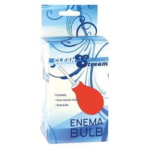 Enema Cleansing Bulb - Red