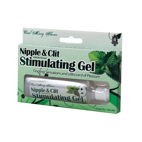 Nipples and Clit Stimulating Gel - Mint