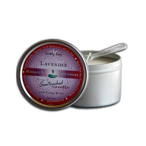 Lavender Suntouched Candle With Hemp 6 Oz
