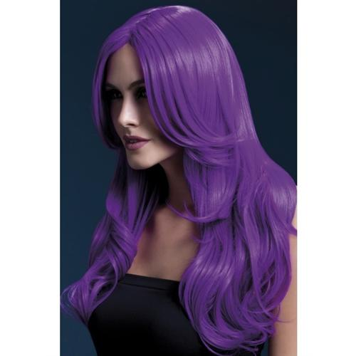 Khloe Wig - Neon Purple