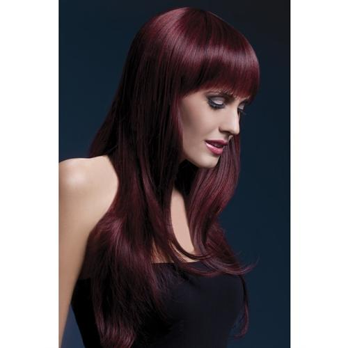 Sienna Wig - Black Cherry