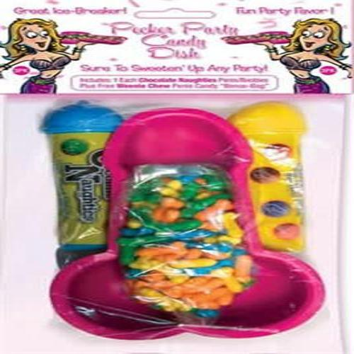 Pecker Party Candy Dish With Candy