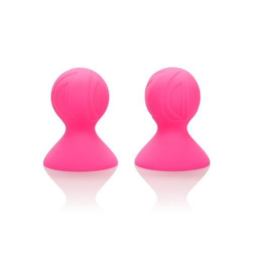 Nipple Play Silicone Pro Nipple Suckers - Pink