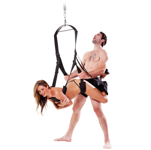 Fetish Fantasy Series Spinning Fantasy  Swing - Black PD2121-23