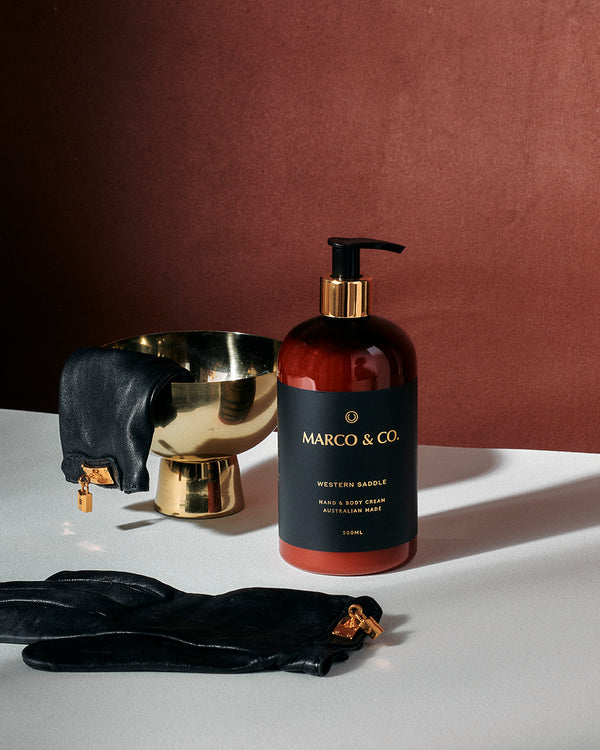 Hand & Body Cream - Western Saddle