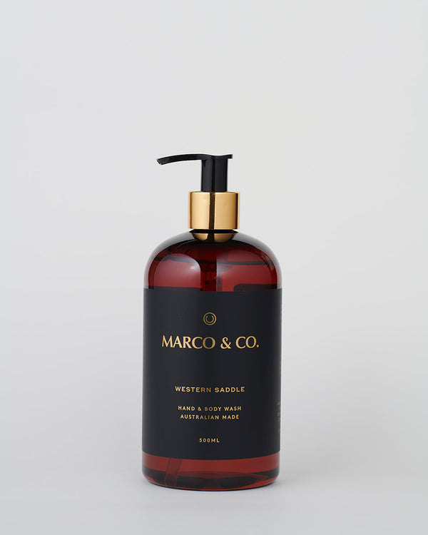 Hand & Body Wash - Western Saddle