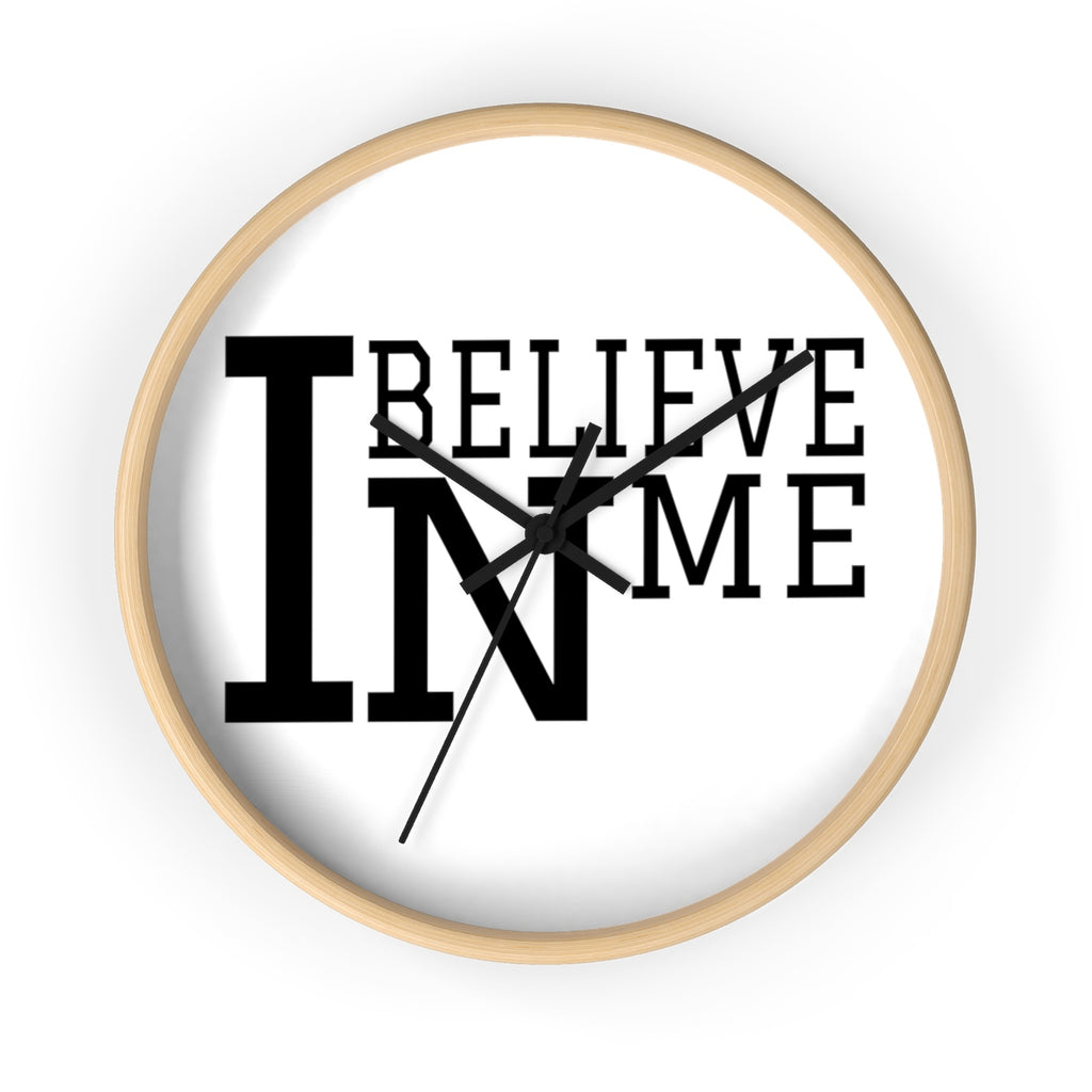 """I Believe In Me"" Wall clock"