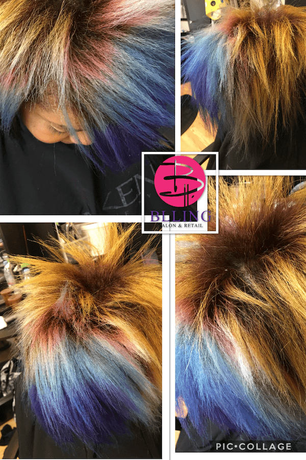 Dry Damaged Color Treated Hair
