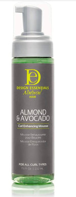 Almond & Avocado Natural Curl Enhancing Mousse