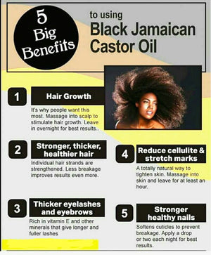 Load image into Gallery viewer, Organic Jamaican Black Castor Oil